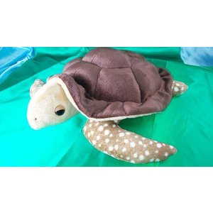 幸運を運ぶ大きなウミガメぬいぐるみ62cm(リアル柄)日本製オリジナルぬいぐるみ、デザインから裁断縫製まで全行程国内自社工場で制作 rabbittail-net