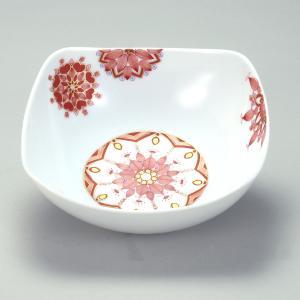 スクエアボウル 茶弥「響花」 |米寿 プレゼント 金婚式 陶器 還暦祝い 退職祝 結婚祝い 贈り物 ペア 夫婦 誕生日 プレゼント 古希 喜寿 祝い||rachael