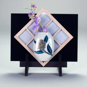 掛立 銀椿 |米寿 プレゼント 金婚式 陶器 還暦祝い 退職祝 結婚祝い 贈り物 ペア 夫婦 誕生日 プレゼント 古希 喜寿 祝い||rachael