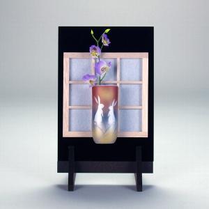 掛立 うさぎ |米寿 プレゼント 金婚式 陶器 還暦祝い 退職祝 結婚祝い 贈り物 ペア 夫婦 誕生日 プレゼント 古希 喜寿 祝い||rachael