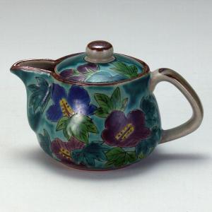 ポット 青釉芙蓉 |米寿 プレゼント 金婚式 陶器 還暦祝い 退職祝 結婚祝い 贈り物 ペア 夫婦 誕生日 プレゼント 古希 喜寿 祝い||rachael
