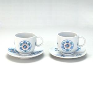 ペアコーヒー 丸紋  米寿 プレゼント 金婚式 陶器 還暦祝い 退職祝 結婚祝い 贈り物 ペア 夫婦 誕生日 プレゼント 古希 喜寿 祝い  rachael