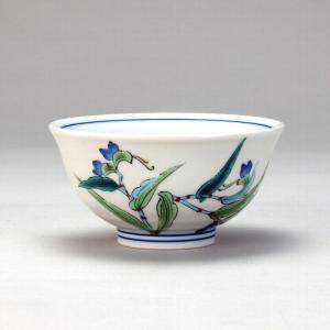 飯碗 露草 |米寿 プレゼント 金婚式 陶器 還暦祝い 退職祝 結婚祝い 贈り物 ペア 夫婦 誕生日 プレゼント 古希 喜寿 祝い||rachael