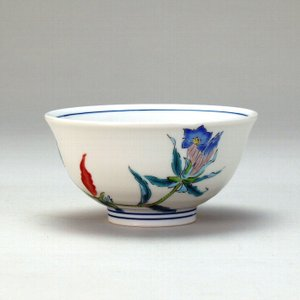 飯碗 リンドウ |米寿 プレゼント 金婚式 陶器 還暦祝い 退職祝 結婚祝い 贈り物 ペア 夫婦 誕生日 プレゼント 古希 喜寿 祝い||rachael