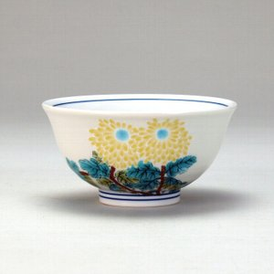 飯碗 菊  米寿 プレゼント 金婚式 陶器 還暦祝い 退職祝 結婚祝い 贈り物 ペア 夫婦 誕生日 プレゼント 古希 喜寿 祝い  rachael