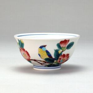 飯碗 椿に鳥  米寿 プレゼント 金婚式 陶器 還暦祝い 退職祝 結婚祝い 贈り物 ペア 夫婦 誕生日 プレゼント 古希 喜寿 祝い  rachael