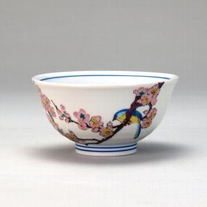 飯碗 梅に鳥  米寿 プレゼント 金婚式 陶器 還暦祝い 退職祝 結婚祝い 贈り物 ペア 夫婦 誕生日 プレゼント 古希 喜寿 祝い  rachael
