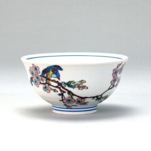 飯碗 桜に鳥  米寿 プレゼント 金婚式 陶器 還暦祝い 退職祝 結婚祝い 贈り物 ペア 夫婦 誕生日 プレゼント 古希 喜寿 祝い  rachael