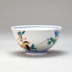 飯碗 鉄仙に鳥  米寿 プレゼント 金婚式 陶器 還暦祝い 退職祝 結婚祝い 贈り物 ペア 夫婦 誕生日 プレゼント 古希 喜寿 祝い  rachael