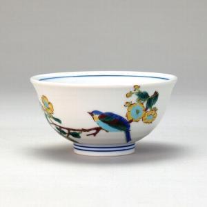 飯碗 金糸梅に鳥 |米寿 プレゼント 金婚式 陶器 還暦祝い 退職祝 結婚祝い 贈り物 ペア 夫婦 誕生日 プレゼント 古希 喜寿 祝い||rachael