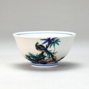 飯碗 古九谷花鳥 |米寿 プレゼント 金婚式 陶器 還暦祝い 退職祝 結婚祝い 贈り物 ペア 夫婦 誕生日 プレゼント 古希 喜寿 祝い||rachael