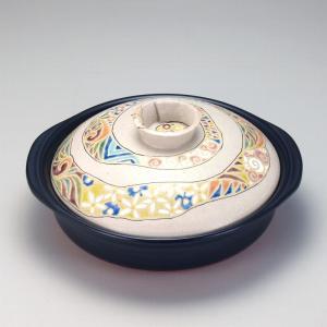 9号土鍋 渦唐草 |米寿 プレゼント 金婚式 陶器 還暦祝い 退職祝 結婚祝い 贈り物 ペア 夫婦 誕生日 プレゼント 古希 喜寿 祝い||rachael