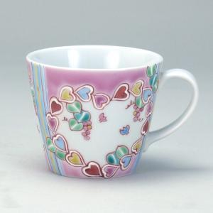 マグカップ ハートピア |米寿 プレゼント 金婚式 陶器 還暦祝い 退職祝 結婚祝い 贈り物 ペア 夫婦 誕生日 プレゼント 古希 喜寿 祝い||rachael