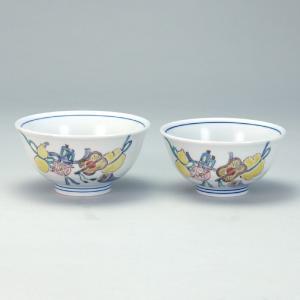 組飯碗 宝尽くし |米寿 プレゼント 金婚式 陶器 還暦祝い 退職祝 結婚祝い 贈り物 ペア 夫婦 誕生日 プレゼント 古希 喜寿 祝い||rachael