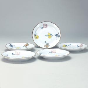 4.6号皿揃 宝尽くし |米寿 プレゼント 金婚式 陶器 還暦祝い 退職祝 結婚祝い 贈り物 ペア 夫婦 誕生日 プレゼント 古希 喜寿 祝い||rachael
