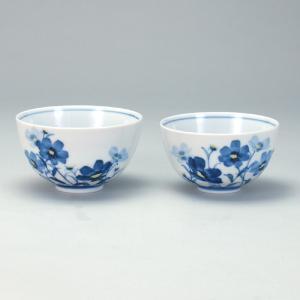 組飯碗 お花畑 |米寿 プレゼント 金婚式 陶器 還暦祝い 退職祝 結婚祝い 贈り物 ペア 夫婦 誕生日 プレゼント 古希 喜寿 祝い||rachael
