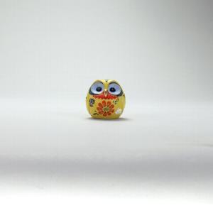 2号丸形梟 黄盛 |米寿 プレゼント 金婚式 陶器 還暦祝い 退職祝 結婚祝い 贈り物 ペア 夫婦 誕生日 プレゼント 古希 喜寿 祝い||rachael