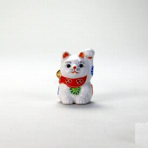 2.5号招猫 白盛 |米寿 プレゼント 金婚式 陶器 還暦祝い 退職祝 結婚祝い 贈り物 ペア 夫婦 誕生日 プレゼント 古希 喜寿 祝い||rachael