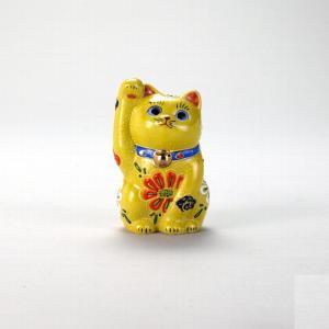 3号招猫 黄盛 |米寿 プレゼント 金婚式 陶器 還暦祝い 退職祝 結婚祝い 贈り物 ペア 夫婦 誕生日 プレゼント 古希 喜寿 祝い||rachael