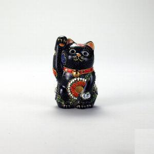 3号招猫 黒盛 |米寿 プレゼント 金婚式 陶器 還暦祝い 退職祝 結婚祝い 贈り物 ペア 夫婦 誕生日 プレゼント 古希 喜寿 祝い||rachael