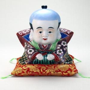 5号福助 青九谷 |米寿 プレゼント 金婚式 陶器 還暦祝い 退職祝 結婚祝い 贈り物 ペア 夫婦 誕生日 プレゼント 古希 喜寿 祝い||rachael