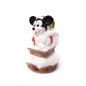 ミッキマウス サンタクロース☆オルゴール (瀬戸物)|racimall