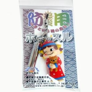 防災・防犯用笛 日本製ホイッスル☆ペコちゃんストラップ_56|racimall