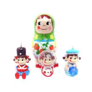 ペコちゃんミニパペット&おまけマトリョーシカ缶付 racimall