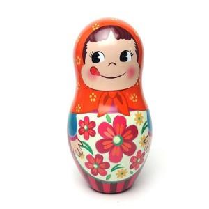ペコちゃん 秋のマトリョーシカ人形缶 A|racimall