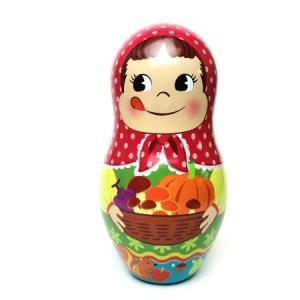 ペコちゃん 秋のマトリョーシカ人形缶 B|racimall