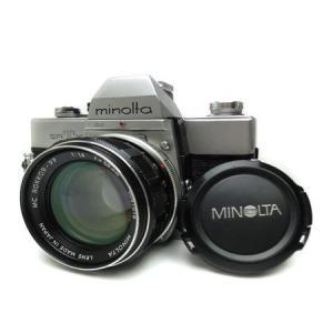 ミノルタ MINOLTA SRT101/MC ロッコール PF58mm F1.4 フィルムカメラ|racimall