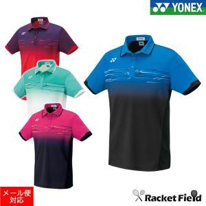 【SALE】ソフトテニス ウェア ヨネックス YONEX 10257 メンズポロシャツ(フィットスタイル) メンズ ソフトテニス バドミントン ウェア ポロシャツ ヨネックス|racket-field