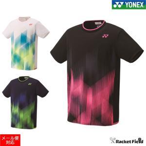 ヨネックス ゲームシャツ フィットスタイル(10321)男女兼用 UVカット 吸汗速乾 制電 パワースリーブ バドミントン ソフトテニス ウェア YONEX racket-field