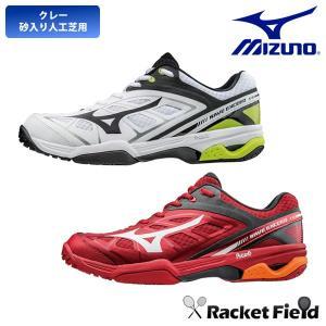 テニス シューズ ミズノ MIZUNO テニスシューズ ウエーブエクシードOC WAVE EXCEED OC(61GB171301・61GB171309・61GB171314)|racket-field
