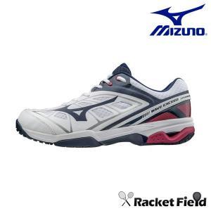 テニス シューズ ミズノ MIZUNO ウエーブエクシードSSワイドOC WAVE EXCEED WIDE OC 砂入り人工芝 クレーコート用 (4Eタイプ)(61GB171414・61GB171401)|racket-field