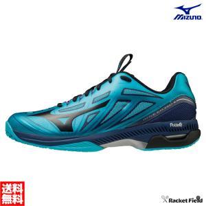 【送料無料】ミズノ ソフトテニスシューズ ウェーブエクシード 4 OC(61GB2012)幅2E 硬式テニス 軟式テニス 靴 軽量 YONEX racket-field