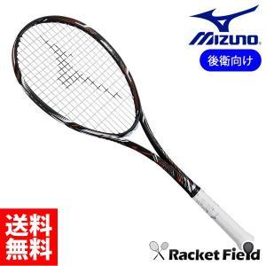 ミズノ ソフトテニスラケット ディオスプロアール(63JTN861)DIOS PRO-R 後衛モデル ガット代・張り代・送料無料 最新 MIZUNO