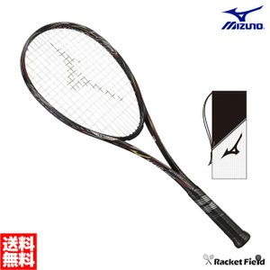 【送料無料】ミズノ ソフトテニスラケット スカッドプロR(63JTN951)SCUD PRO-R 前衛向け 上級者向け ガット代・張り代無料 軟式テニス テニスラケット MIZUNO racket-field