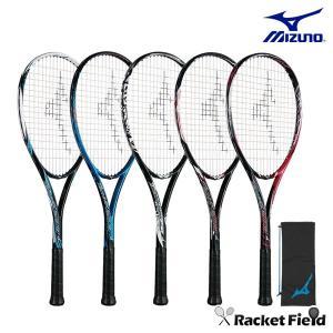 【ガット張上済】ミズノ ソフトテニスラケット テクニクス200(63JTN975)ラケットケース付き 軽量 軟式テニス MIZUNO racket-field