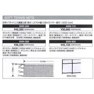 ミズノ MIZUNO ソフトテニス用 ネット 【軟式テニス】 日本ソフトテニス連盟公認(6NN110)  【テニス ネット】|racket-field