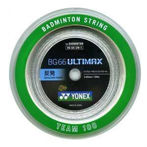 ヨネックスYONEXバドミントンガット・ストリングBG66アルティマックス BG66ULTIMAX  【ロール100m】BG66UMー1【バドミントン ガットロール】 racket-field