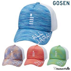 【限定】2019夏限定モデル ゴーセン GOSEN 2019 ALL JAPAN キャップ(C19A05)プラネタリウム 帽子 ソフトテニス 軟式テニス ジャパン オールジャパン メッシュ|racket-field