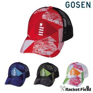 【限定】ゴーセン 2019春限定モデル GOSEN2019 ALL JAPANキャップGAME(C19P02)軟式テニス ソフトテニス ジャパン メッシュ|racket-field