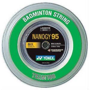ヨネックスYONEXバドミントンガット・ストリングナノジー95 NANOGY95 【ロール100m】【バドミントン ガットロール】 racket-field