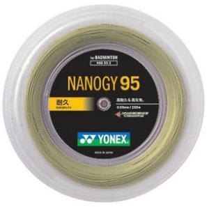 ヨネックスYONEXバドミントンガット・ストリングナノジー95 NANOGY95 【ロール200m】【バドミントン ガットロール】 racket-field