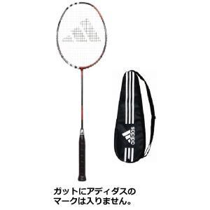 【ガット代・張り代・送料込!!】アディダスadidasバドミントンラケット アディパワープロadipower proブラック/レッド(BK/RD)|racket-field