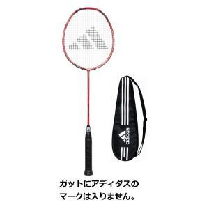 【ガット代・張り代・送料込!!】アディダスadidasバドミントンラケット アディパワープロadipower proレッド/ブラック(RD/BK)|racket-field