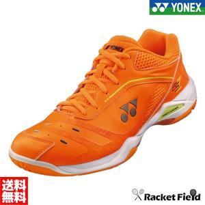 【限定】ヨネックス バドミントンシューズ パワークッション65Z(SHB65ZY)桃田賢斗選手使用モデル 160ブライトオレンジ YONEX|racket-field