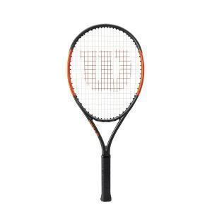 【特価品】 Wilson (ウィルソン) BURN25S バーン25S  (WRT534000) 【ガット張り上がり】 ジュニア用テニスラケット (専用カバー付)