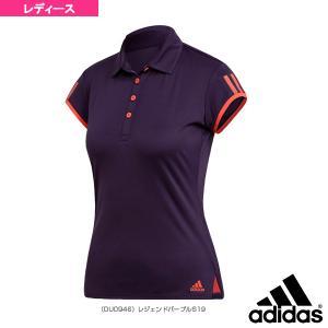 アディダス ウェア(レディース)  TENNIS CLUB 3ST POLO/テニスクラブ 3ST ポロシャツ/レディース(FRO23)|racket